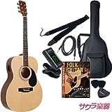 HONEY BEE ハニービー アコースティックギター エレアコ F-16E/N ナチュラル サクラ楽器オリジナル 初心者入門リミテッドセット