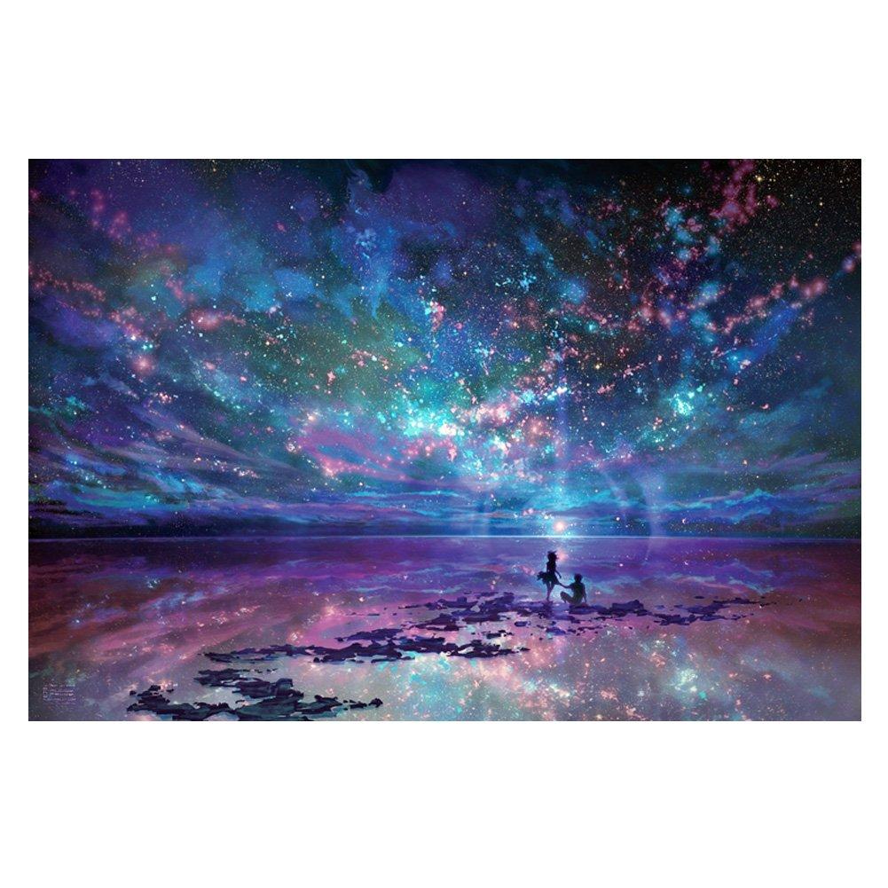 Belle esthétique et 1000 morceaux Puzzle, Ciel de nuit Blancho Bedding