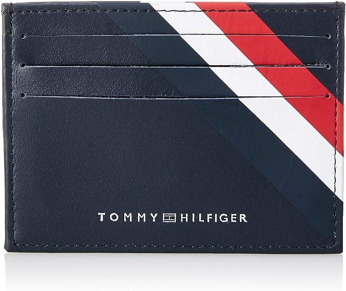 Tommy Hilfiger Business Leather CC Holder Portefeuilles Homme