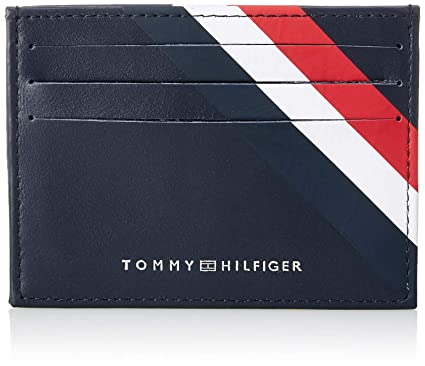 Tommy Hilfiger Cartera Bold Holder Negro Hombre