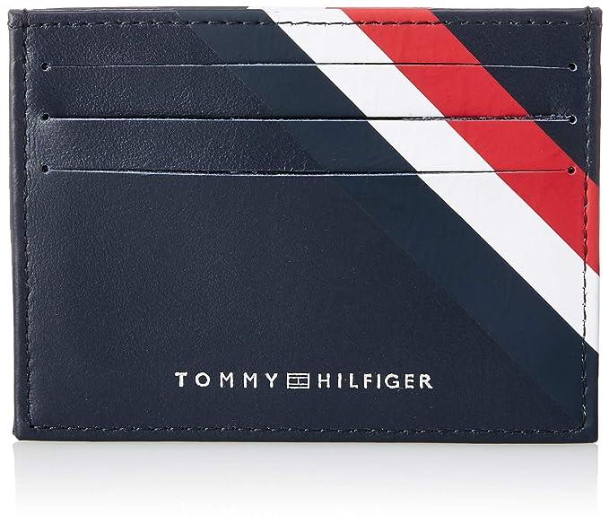 b3edc157b Tommy Hilfiger - Bold Corporate Cc Holder, Tarjeteros Hombre, Azul  (Corporate),