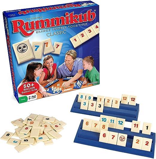 ZWCC Rummikub - El Juego Original De Azulejos Rummy: Amazon.es: Hogar