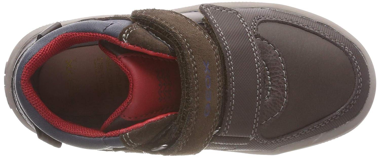 Geox Kids Arzach Boy 10 High Top Velcro Sneaker