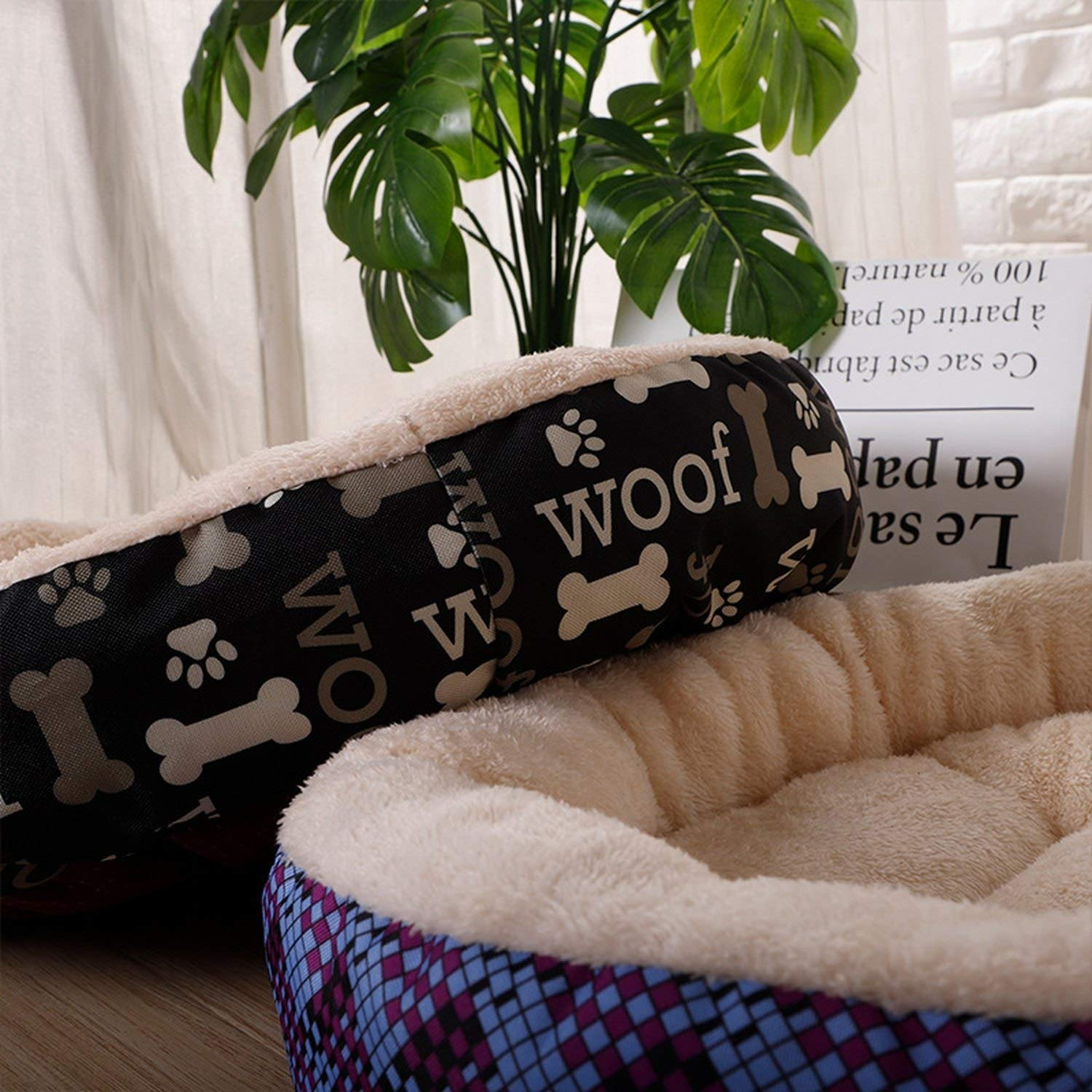 Amazon.com : f5zhangdd Pet Products Dog Bed for Small Medium ...