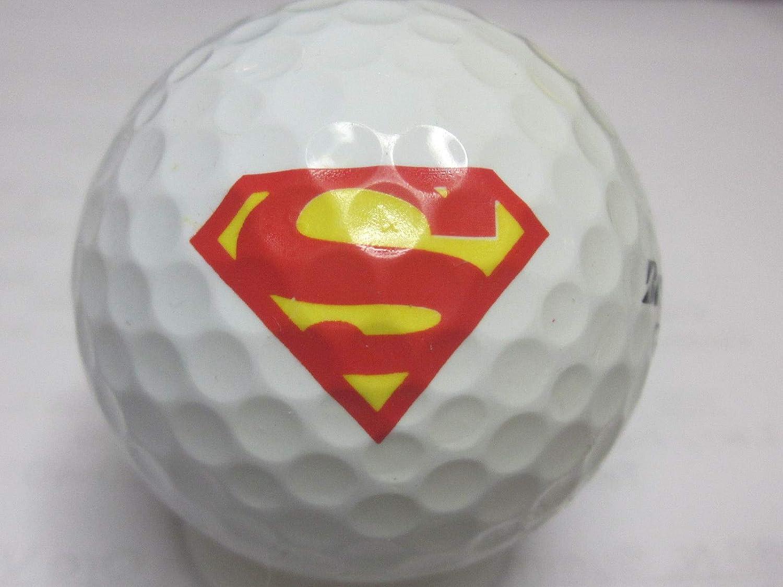 Pelotas de Golf con el Logotipo de Superman (3 Unidades): Amazon ...