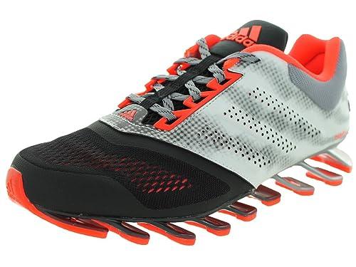 f024d5e06c09 Adidas Springblade Drive 2.0 Mens Running Shoe 6.5 Black-Solar Red-Silver  Met