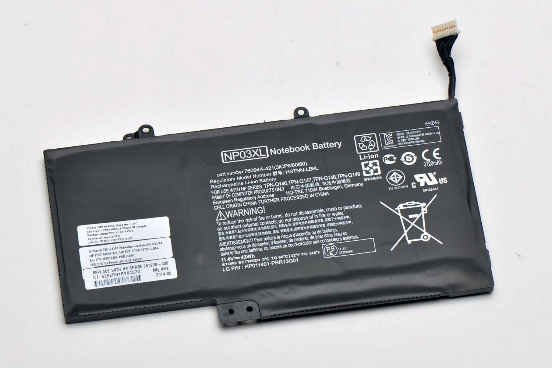 New 11.4V 43Wh NP03XL Battery for HP Pavilion X360 13-A010DX HSTNN-LB6L 760944-421 TPN-Q146