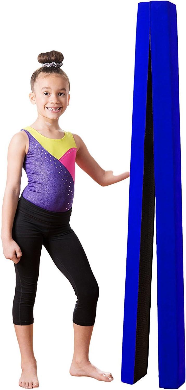 Zerone Faisceau de nastique simili-cuir souple 7PI pliante poutre d/'/équilibre de formation pour les enfants et accueil formation