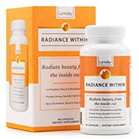 Lumiday Radiance Within - Luxe Beauty Booster and Wellness Supplement for Women, Stress and Mood Support