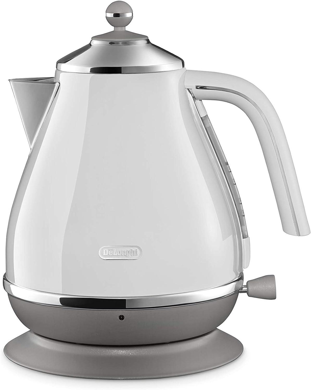 DeLonghi KBOC1200J-W [Electric kettle Icona Capital Sydney White] Japan Import