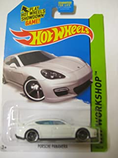 Hot Wheels 2015 HW Workshop Porsche Panamera 186/250, White