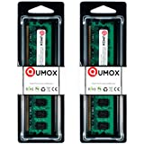 QUMOX 4GB(2x 2GB) DDR2 800MHz PC2-6400 PC2-6300 DDR2 800 4 GB (240 PIN) DIMM Desktop Memory