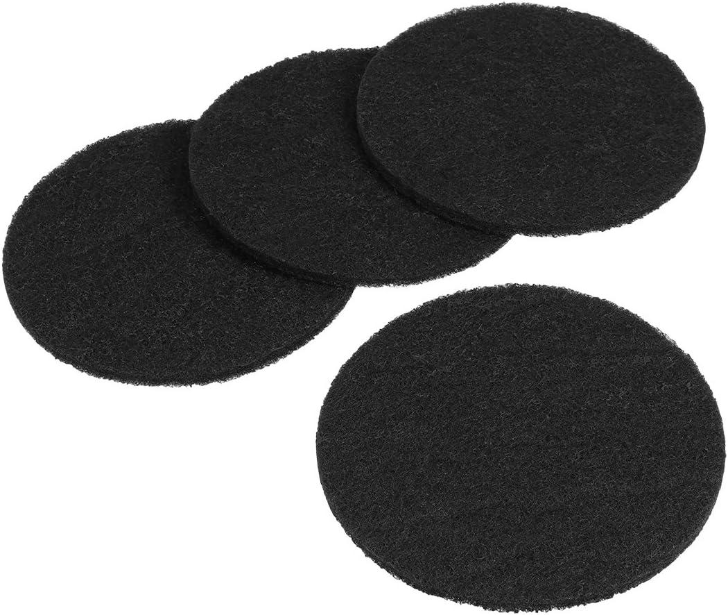 UEETEK 4pcs filtros de carbono de forma redonda cajas de arena ...