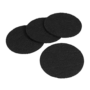 UEETEK Filtro de carbón de 4 piezas para la forma redonda de la caja de arena para gatos: Amazon.es: Productos para mascotas
