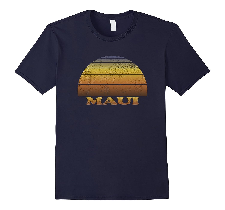 Maui T Shirt Vintage Sunset Hawaii Beach Men Women Youth Fun-T-Shirt