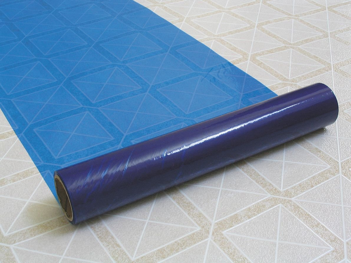 Floor/Multi-Use Film, 200 ft. Length x 36''Width, Adhesive Coated Backing