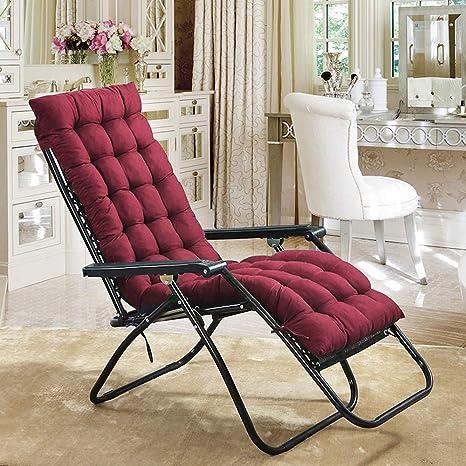 Brilliant Scorpiuse Sun Lounger Cushion 67 Inch Lounge Chaise Cushion Sun Lounger Mattress With Non Slip Back Elastic Sleeve For Garden Machost Co Dining Chair Design Ideas Machostcouk