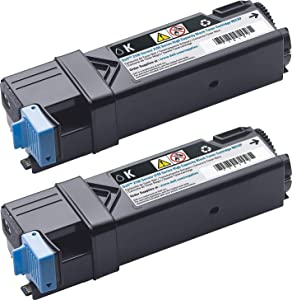 Dell 899WG High-Yield Black Toner Cartridge, Pack of 2