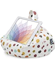 iBeani Bean Bag Cushion Holder/Stand for iPad and Tablet - Polka Dot Whitby