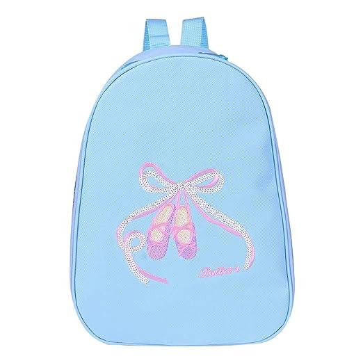 Amazon.com: CHICTRY Little Girls Dance Shoulder Bag Dancing School Ballet Gym Backpack (Blue, One Size): Toys & Games