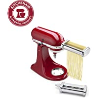KitchenAid KSMPCA Pasta Cutter Attachment Set, One Size, Silver