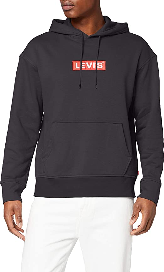 TALLA XXL. Levi's Relaxed Graphic Hoodie Sudadera para Hombre