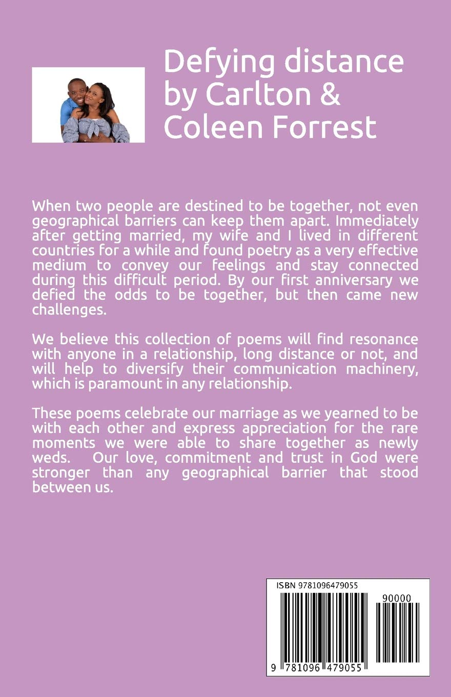 Defying Distance: Engaging Love Poems: Carlton Forrest