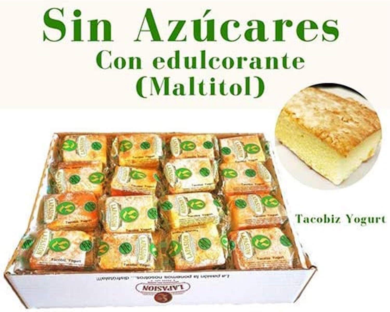 LAPASION - Bizcocho yogurt sin azúcares con edulcorante 2 Kg: Amazon.es: Alimentación y bebidas
