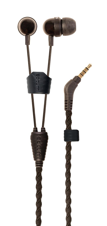 Wraps WRAPSLBLK-V15M Wristband Headphone, Natural Black