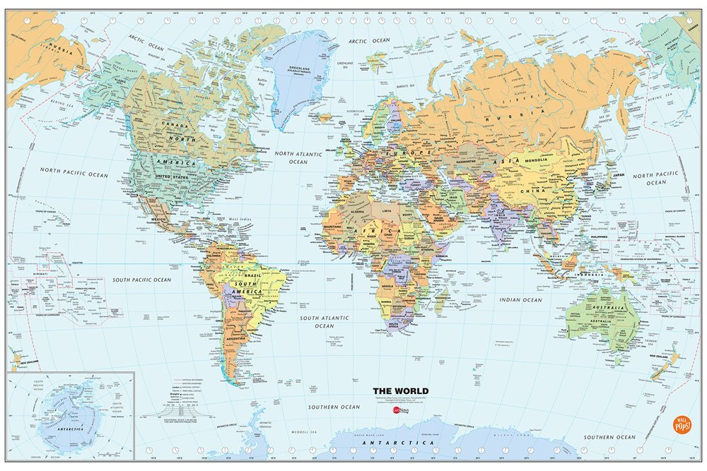 Top 10 Best World Map for Kids Reviews in 2020 1