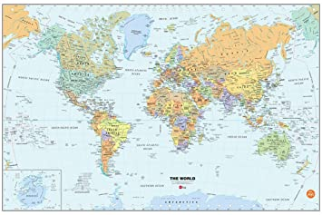 Brewster wall pops wpe99074 peel stick world dry erase map with brewster wall pops wpe99074 peel stick world dry erase map with marker gumiabroncs Choice Image