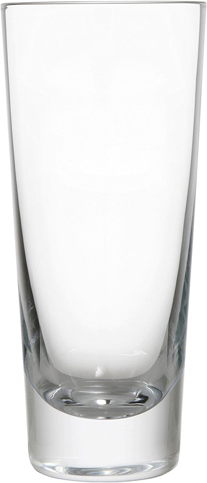 Amazon Com Schott Zwiesel Tritan Crystal Glass Tossa Barware Collection Beer Tumbler Highball Glass 8 3 Ounce Set Of 6 Kitchen Dining