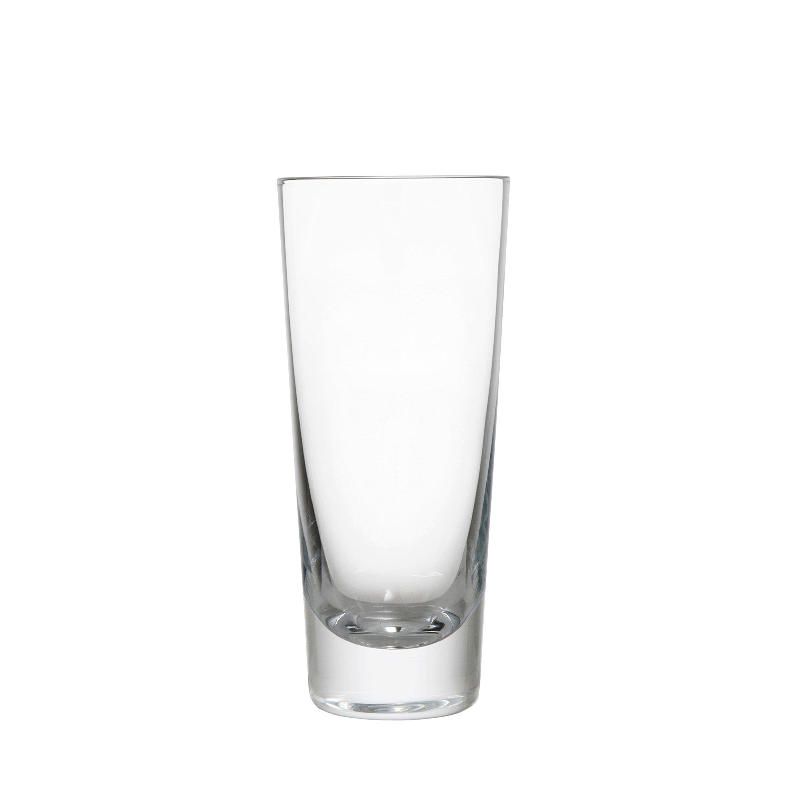 Schott Zwiesel Tritan Crystal Glass Tossa Barware Collection Beer Tumbler/Highball Glass, 8.3-Ounce, Set of 6