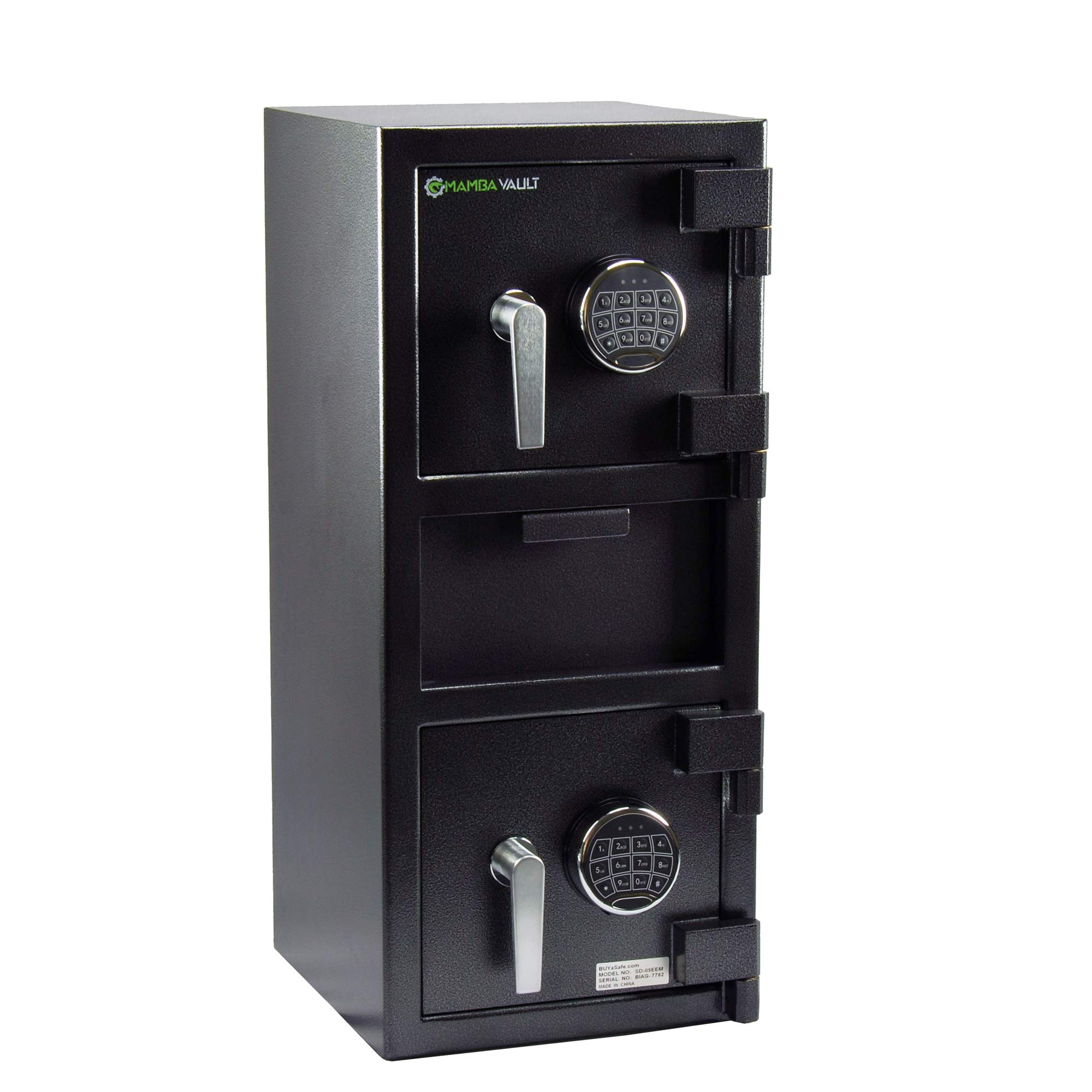 Mamba Vault SD-05EEM-DLX SD-05EEM Deluxe Dual Compartment Drop Safe
