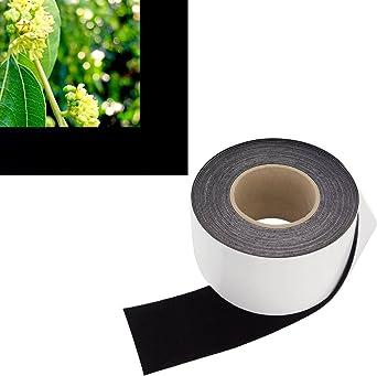 Amazon.com: Rollo de 3.0 in, cinta de borde negro para ...