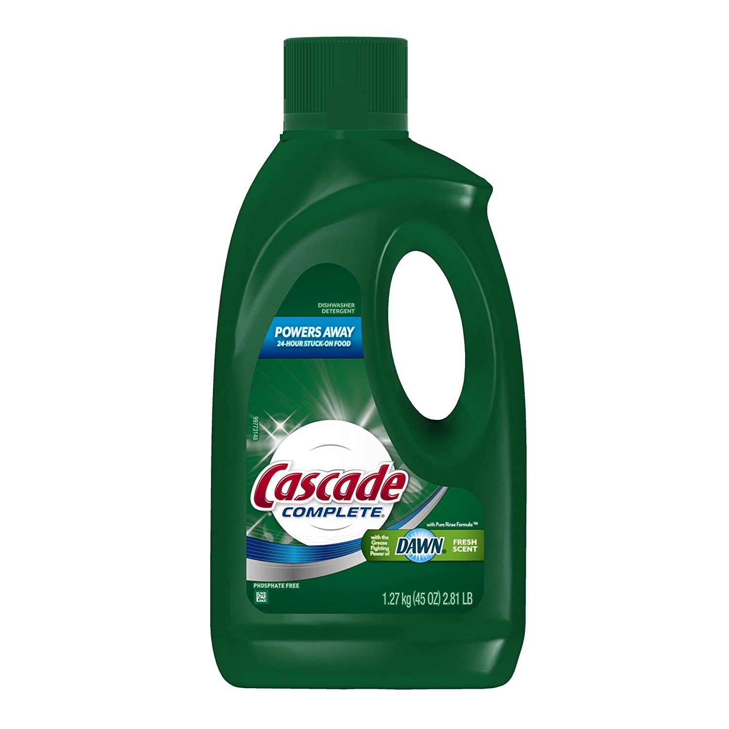 Amazon.com: Cascade Complete Gel Dishwasher Detergent, 45-Ounce: Health & Personal Care