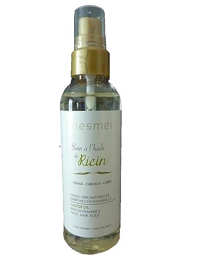 nesmé Miss Eden – Cuidado con el aceite de ricino – Visage – Cabello – Cuerpo