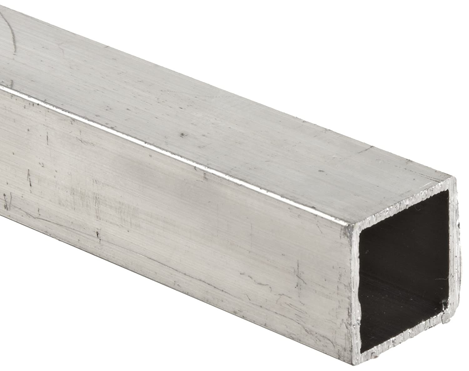 "1-1//2/"" X 1-1//2/"" X 1//8/"" Wall 6063 T52 Aluminum Square Tube 60/"" Piece"
