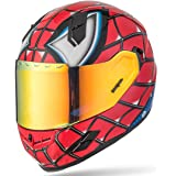 NENKI NK-856 Full Face Spiderman Motorcycle Helmet For Adult and Youth Street Bike with