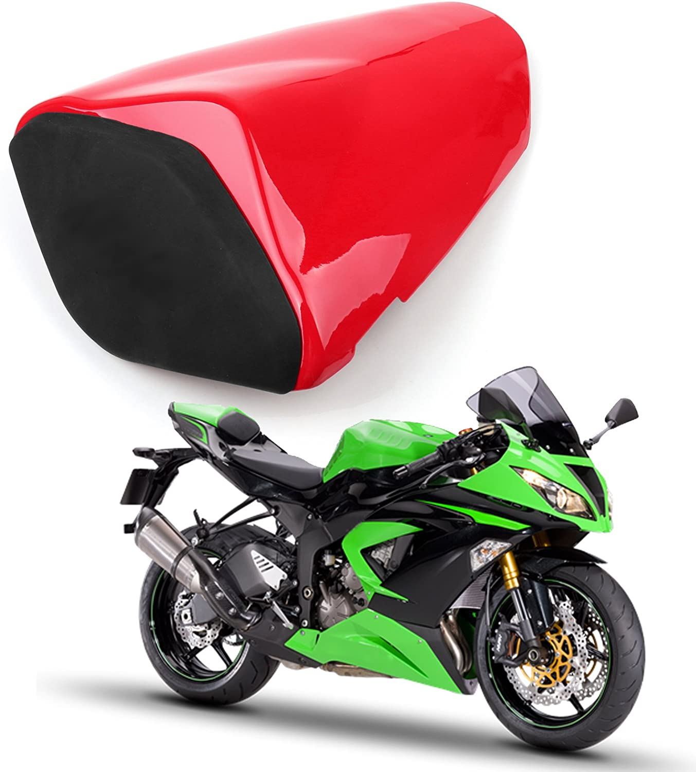 2009-2014 Mad Hornets Seat Cowl Rear Cover For Kawasaki ZX6R 636 Green