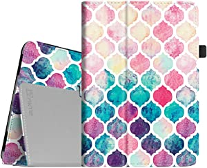 Fintie Folio Case for iPad Mini 1/2/3 - Slim Fit Case Smart Stand Cover Auto Sleep/Wake Feature for iPad Mini 1 / iPad Mini 2 / iPad Mini 3, Moroccan Love