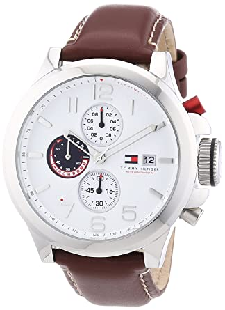 Amazon.com: Tommy Hilfiger Watches Mens Analogue Quartz Watch 1790810: Tommy Hilfiger: Watches