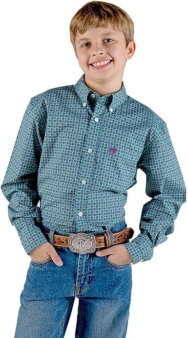 Cinch Boys Big Long Sleeve Printe D Shirt