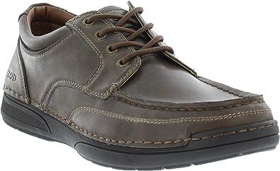 IZOD Joel Brown Engineered Leather Mens