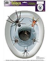 Beistle - Spider Toilet Topper Peel N Pl
