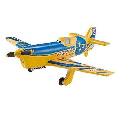 Disney Planes Gunnar Viking No. 12 Diecast Aircraft: Toys & Games