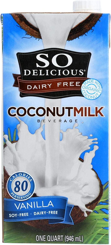 So Delicious Coconut Milk Beverage - Vanilla - Case Of 12 - 32 Fl Oz.