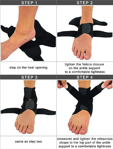 Precision Ankle Protectors Protectores de Tobillo Unisex Adulto