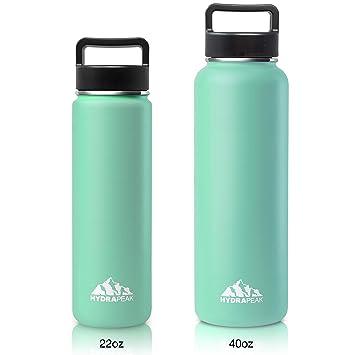 Hydrapeak Botella de Agua de Acero Inoxidable, Aislamiento ...