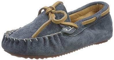51a2a00d3b6bf Mocassins Fille Garcon Chaussures de Marche B颩 Enfants Chaussons Cuir Suede  pour Printemps ɴ鬇